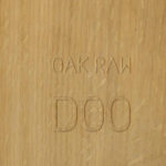 D00 oak raw