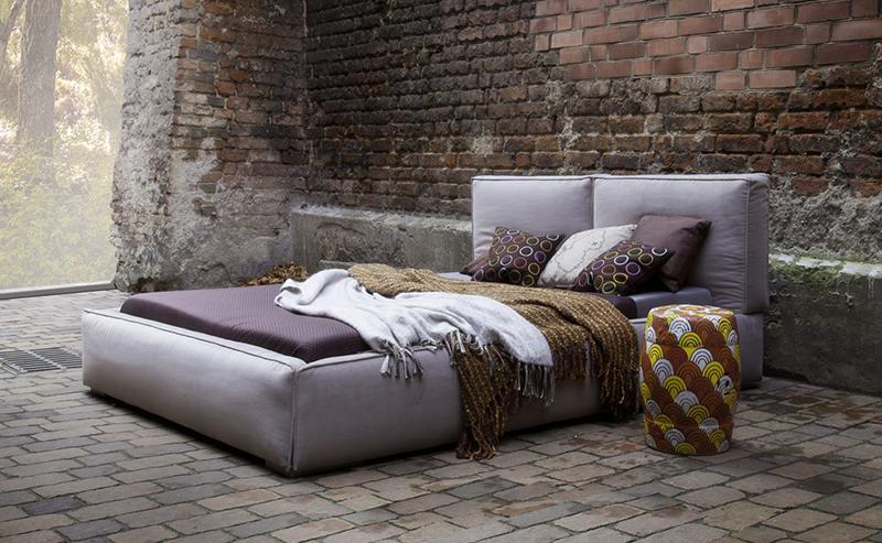 łóżko Tapicerowane Z Pojemnikiem Bari Różne Rozmiary